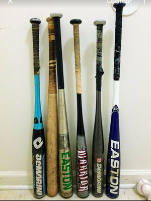 Baseball bats and balls . for Sale in Bridgeport, CT
