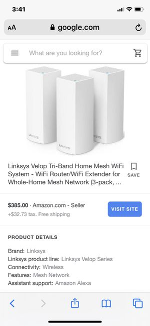 Linksys Velop New for Sale in Riverview, FL