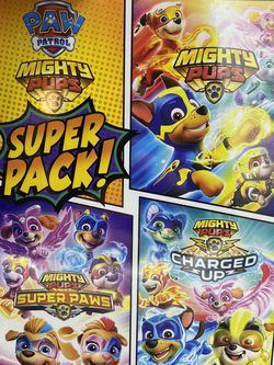 Brand New Nickelodeon PAW Patrol: Mighty Pups Super Pack! (3-DVD Gift Set) for Sale in Peoria,  IL