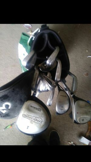 Wilson Golf Clubs full set for Sale in Lakewood, OH