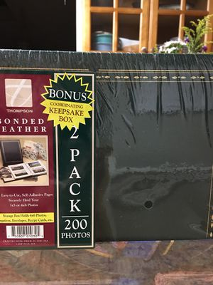 2 photo books. New in wrapper for Sale in Westminster, CO