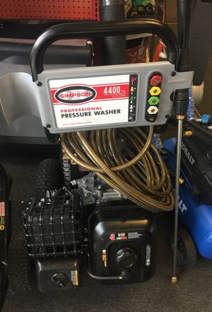 Simpson pressure washer for Sale in Clearwater, FL