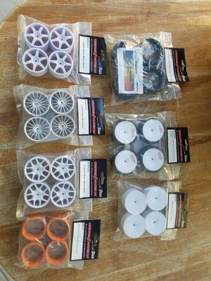 New RC car parts lot wheels tires $80 for Sale in North Las Vegas, NV