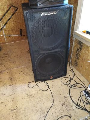 Peavey subwoofers 18 dual cabinet for Sale in Longview, TX