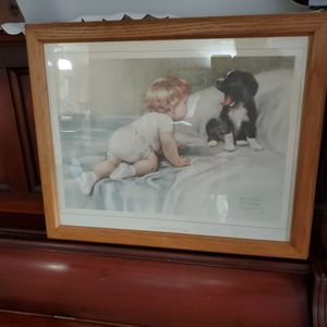 Bessie Pease Gutman Framed Picture : Who's Sleepy for Sale in Normandy Park, WA