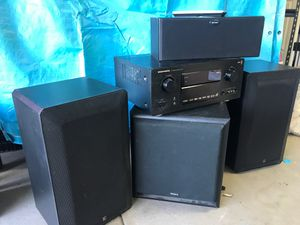 Marantz Stereo Receiver & Speakers & Sun Woofer for Sale in Phoenix, AZ