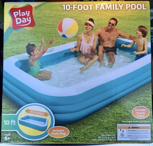PlayDay 10-foot Family pool (Includes Repair Patch) for Sale in Powell, OH