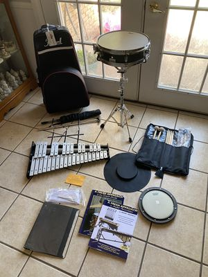 Pearl beginning band percussion drum set for Sale in Odessa, TX