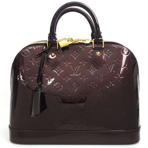 Louis Vuitton Alma PM Vernis Amarante M91611 in Excellent Condition for Sale in Irving, TX
