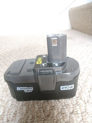 RYOBI original 18 Volt 3 Ah Lithium Battery for Sale in Fort Lauderdale, FL