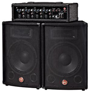 """Harbinger M60 60W, 4-Channel Compact Portable PA with 10"""" Speakers for Sale in Hollywood, FL"""
