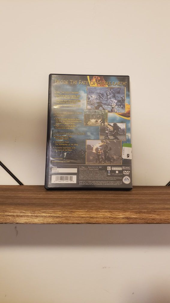 Lord of the Rings [PS2]