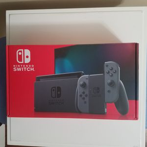 Nintendo Switch 32GB Console - Gray (Version 2) for Sale in Aspen Hill, MD
