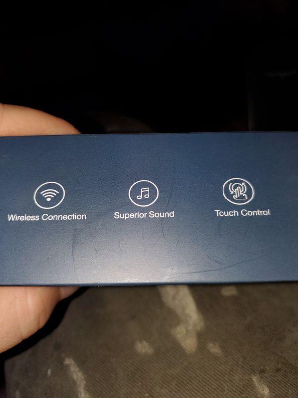 bluetooth headphones. new