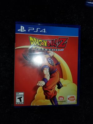 Dragonball Z Kakarot PS4 for Sale in Aurora, CO