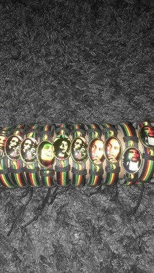 Bob Marley bracelets for Sale in Upland, CA