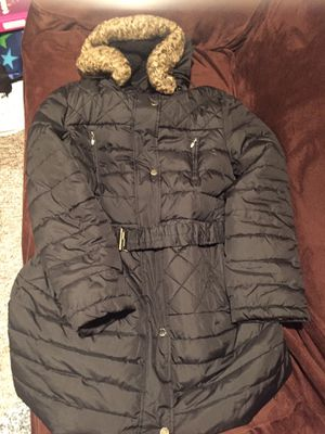 Women's Black detachable hood jacket coat by Espirt xl for Sale in Seattle, WA