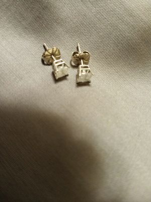 Princess cut diamond earrings for Sale in Brook Park, OH