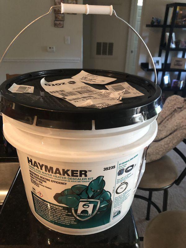 Haymaker - tankless water heater descaler kit