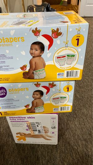 Baby pampers for Sale in Shaker Heights, OH