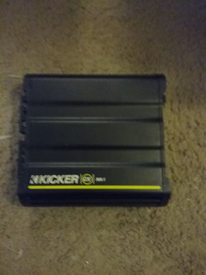 Kicker monoblock car amplifiers for Sale in Renton, WA