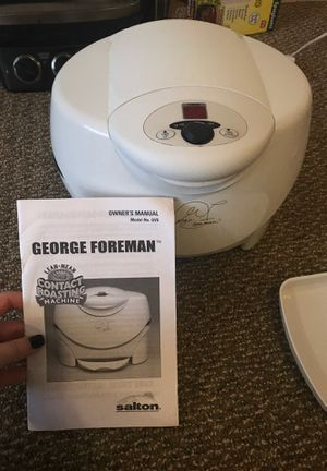 George Foreman Contact Roasting Machine for Sale in San Angelo, TX