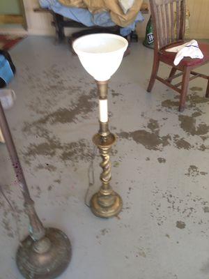 Antique floor lamps brass for Sale in Atlanta, GA