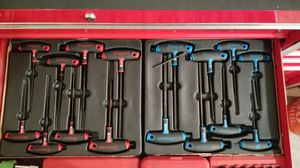 Snap-on T handle hex Allen wrench sets for Sale in Springfield, MO