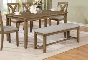 Dining table set. New in boxes. Price is firm ZS for Sale in Pomona, CA