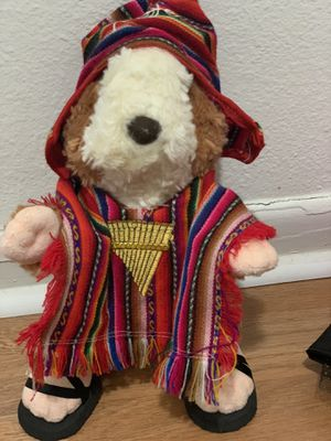 """Peruvian cuy (guinea pig) stuffed plush toy animal. 12""""tall. for Sale in Miami, FL"""