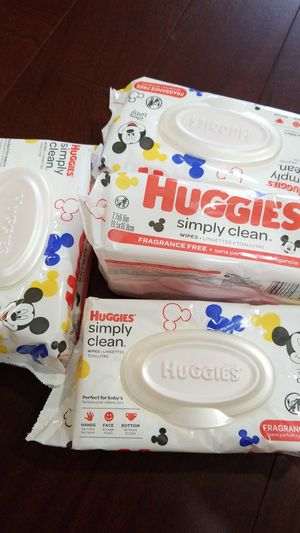 Huggies wipes 64ct fragrance free for Sale in Queens, NY
