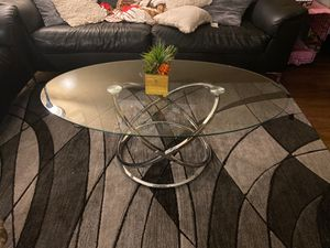 Glass table set of three for Sale in Norwalk, CA