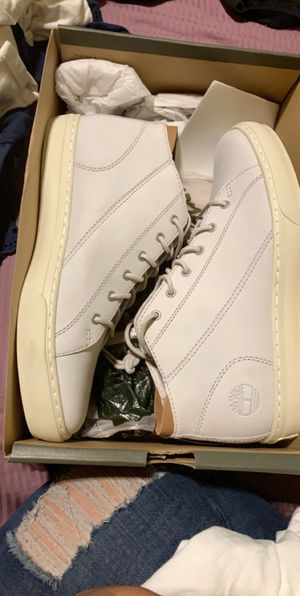 Timbaland Light Grey men shoes size 10 for Sale in Richmond, CA