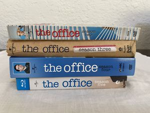 The Office DVD/Blu Ray Used Seasons 2-5 for Sale in Fresno, CA