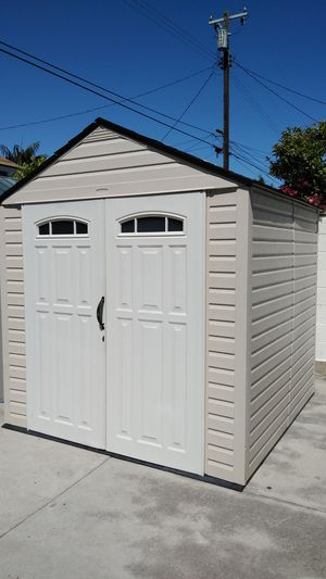 Rubbermaid 7x7 Storage Shed for Sale in Gardena, CA