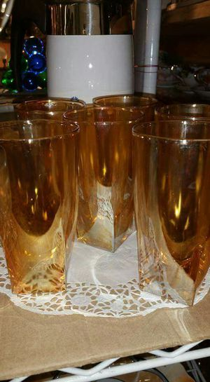 Carnival Glass set vintage Antique perfect condition for Sale in College Park, MD