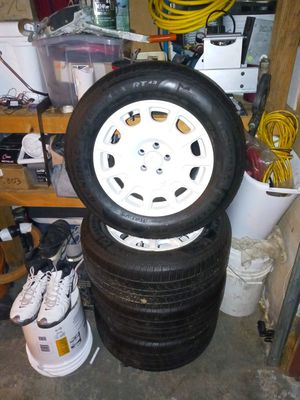 4 rims and tires for Sale in Bremerton, WA