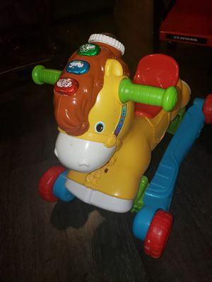 Rock n play toy horse for Sale in Covina, CA
