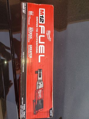 Milwaukee Fuel 1/2 Ratchet (TOOL ONLY) NO BATTERY NO CHARGER for Sale in Fresno, CA