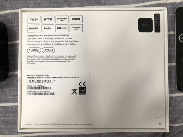 Apple TV 32 GB (4th Generation)