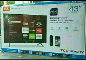 """43S423 43"""" TCL UHD 4K 2160P ROKUTV for Sale in Rialto, CA"""