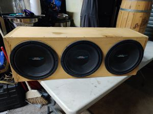 IMAGE DYNAMICS IDQ12 SUBWOOFER BOX..3 12,S...1 OHM STABLE for Sale in Chicago, IL