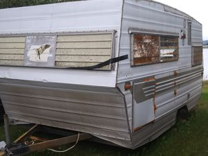 1970? Aristocrat pull behind 7'x13' camper for Sale in CA, US