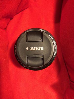 Canon EF 50mm f/1.4 USM AF Lens for Sale in Miami, FL