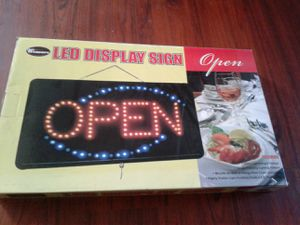 Winware led display open sign for Sale in San Diego, CA