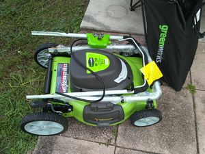 GreenWise electric lawn mower 3 in 1 brand new never used for Sale in North Port, FL