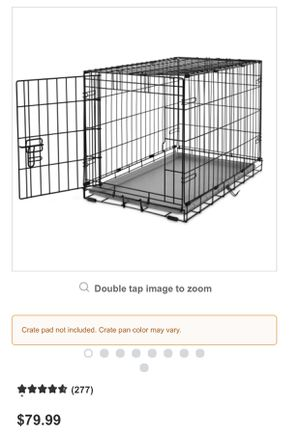 Medium dog crate for Sale in Norco, CA