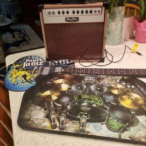 PAPER JAMS GUITAR, AMP & DRUMS! for Sale in Hemet, CA