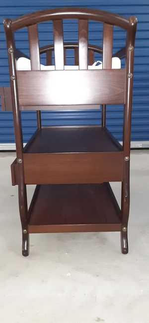 Cherry Wood Baby Changing Table for Sale in Greer, SC