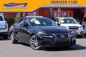 2014 Lexus IS for Sale in Fontana, CA